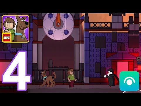 LEGO Scooby-Doo Escape from Haunted Isle - Gameplay Walkthrough Part 4 - Level 5 (iOS, Android)