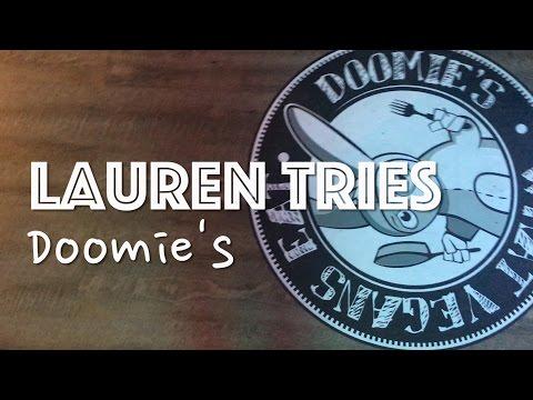 LAUREN TRIES: DOOMIE'S (VEGAN RESTAURANT)
