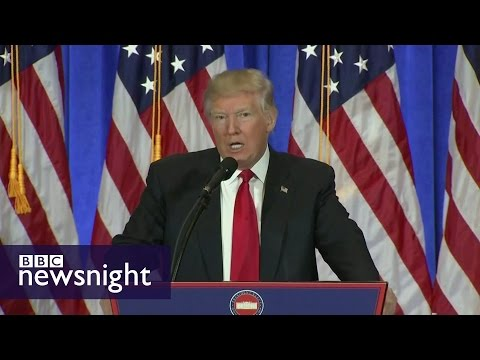 The Trump files: Scandal or smear? - BBC Newsnight