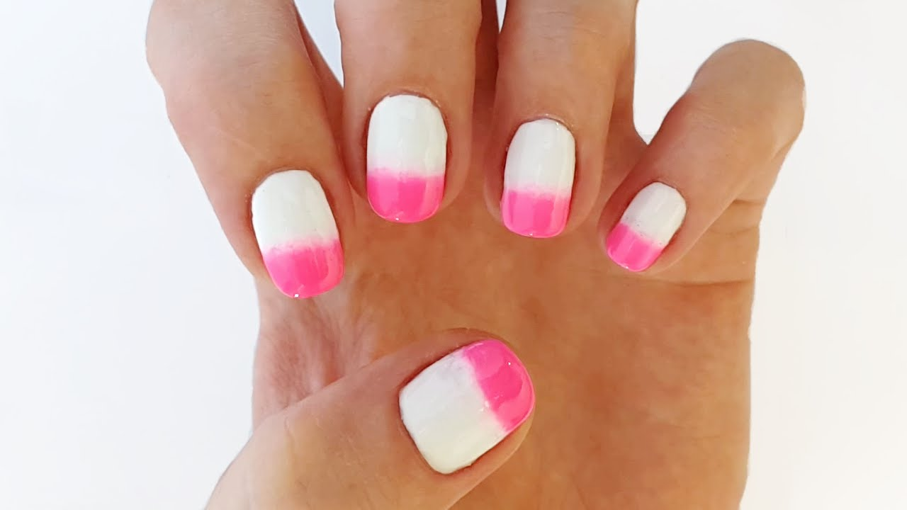 Ombre Nails Without Sponge New Video
