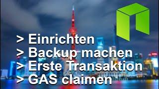 NEO WALLET EINRICHTEN | GAS Claimen | Die gesamte Anleitung | Deutsch