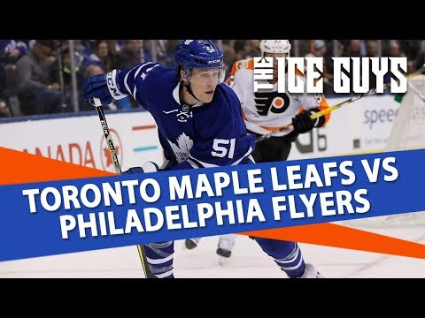 Toronto Maple Leafs vs Philadelphia Flyers | The Ice Guys | NHL Picks