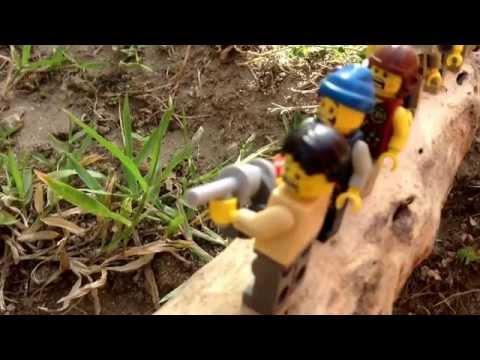 Lego king kong ep7 the log