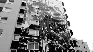 A wise man mural by HUARIU Berlin Mural Fest Streetart Urban Art Videoproduktion Berlin