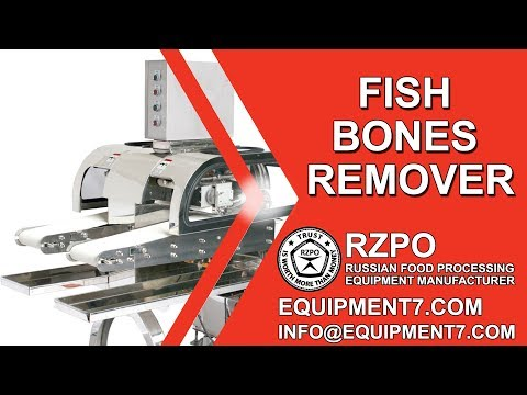 Removing Bones From Fillets. Pin Bone Remover Machine. Fish Bones Remover. Pinbone Removing.