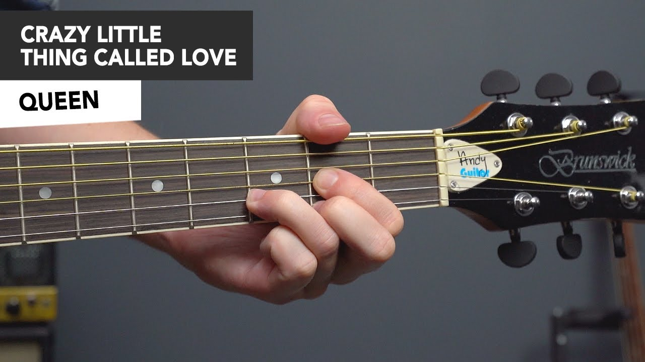 Queen Crazy Little Thing Called Love Guitar Lesson Tutorial