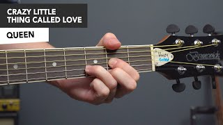 Queen Crazy Little Thing Called Love - Guitar Lesson Tutorial - How to Play Easy Guitar Songs.mp3