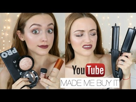 Youtube Made Me Buy It! Tag | Beauty Products I Bought BECAUSE OF YT HYPE!