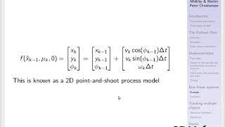 Kalman filtering part 2
