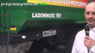 Auto-Tech przyczepy na Agrotech Kielce 2015