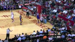 Dwight Howard's Monster Block on Jeremy Lin!!! | Lakers @ Rockets | 12/4/12
