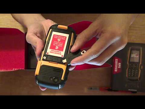 Sonim XP3300 Force Unboxing