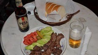 アキーラさん肉料理&ペヤビール堪能①旧ユーゴスラビア・ペヤのホテル・ユサイ!Hotel-Jusaj,Peja(Pec),Kosovo