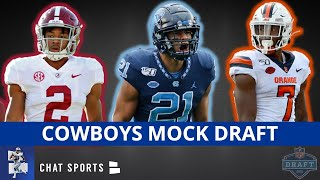 Dallas cowboys draft focuses on our first nfl mock of the year for cowboys. it goes all 7-rounds 2021 as host tom downey attempts...