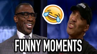 Shannon Sharpe/Lavar Ball Funniest Moments (NEW)