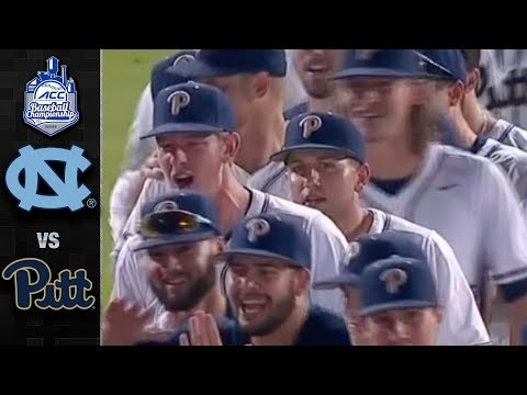 Pitt vs. North Carolina ACC Baseball Championship Highlights (2018)