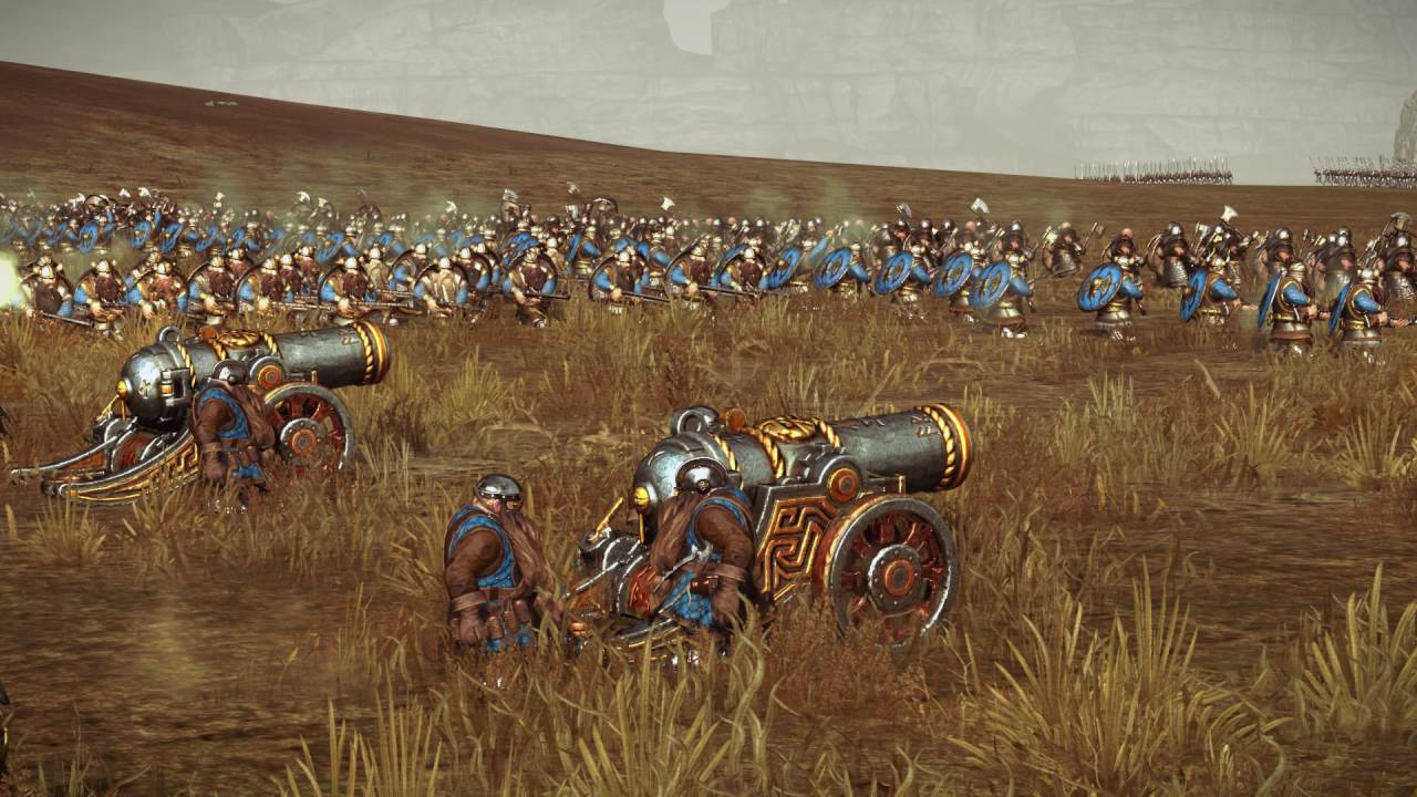 Total War: WARHAMMER - 2vs2 EMPIRE vs DWARFs   Multiplayer Land Battle