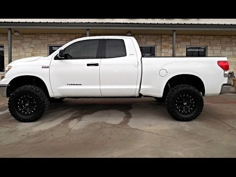2008 Toyota Tundra SR5 Crew Lifted Truck - YouTube