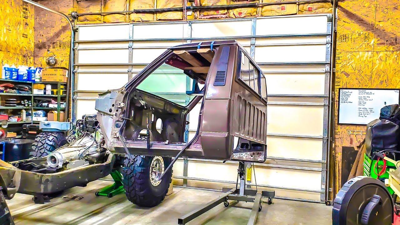 LS COMANCHE Build...Mounting The Cab Part 2
