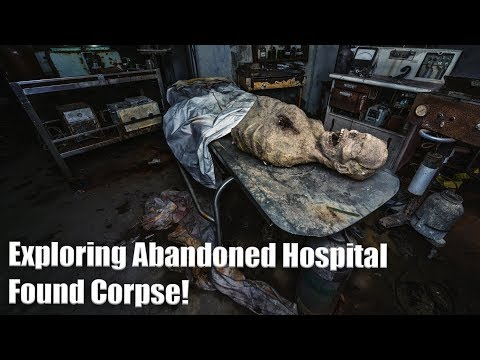 Exploring an Abandoned Tuberculosis Hospital - Found a Fake Corpse