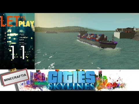 [FR] Cities Skylines - ep.11 - Ports