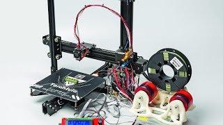 200 Euro 3D-Drucker-Bausatz: Tevo Tarantula - Zusammenbau