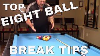 Eight Ball Break Tips