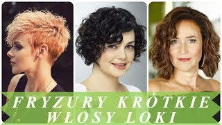 Fryzura Loki Krótkie Włosy