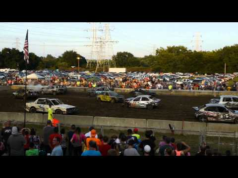 Demolition Derby, Hamilton County Fair 2014, Cincinnati, OH Part I