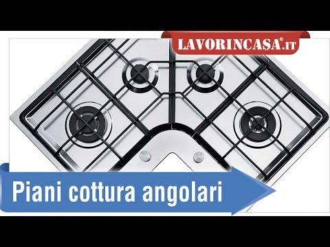 Piani cottura angolari - YouTube