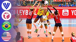 Brazil vs. USA - Gold Medal Match | Women's Volleyball World Grand Prix 2016