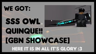 We got: NEW RELEASE SSS OWL QUINQUE!! | Ghouls: Bloody Nights Showcase | ROBLOX | 06/05/19
