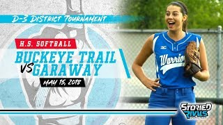 Video HS Softball | Garaway vs Buckeye Trail [DISTRICT SEMIFINAL] [5/15/18] download MP3, 3GP, MP4, WEBM, AVI, FLV Agustus 2018
