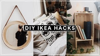 DIY IKEA HACKS - Super Affordable, Trendy + EASY! (2019) // Lone Fox