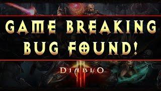 Diablo 3 Game Breaking Bug in Season 9 Patch 2.4.3