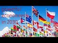 Top 21 most powerful economies in 2030 by GDP (PPP)