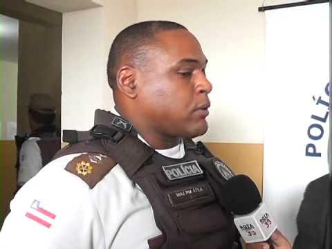 ACUSADOS DE ASSALTO SÃO PRESOS EM SIMÕES FILHO