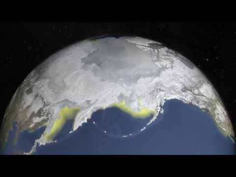 Climate Change- Arctic Sea Ice Hits New Winter Low