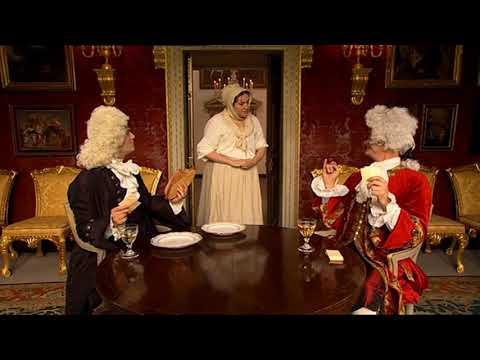 Horrible Histories Gorgeous Georgian John Montagu 4th Earl of Sandwich