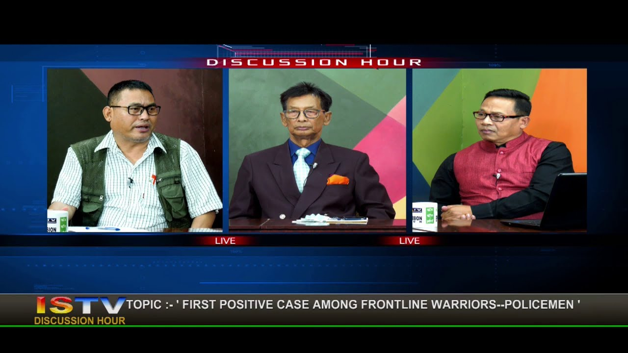 1st JULY 2020 DISCUSSION HOUR TOPIC:'FIRST POSITIVE CASE AMONG FRONTLINE WARRIORS--POLICEMEN'