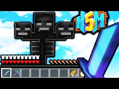 DEFEATING THE FIRST DUNGEON BOSS!? - HOW TO MINECRAFT S5 #3