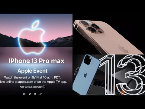 Introducing iphone 13/ Apple Event 14 September 📲