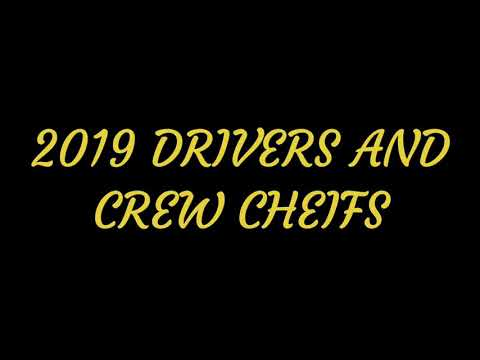 2019 NASCAR Monster Energy Cup Series Drivers and Crew Chiefs