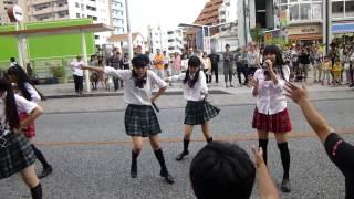 5/5 那覇ブルーシール前 jewel kiss 恋華 -Lovers Flower-をカバー HP h...