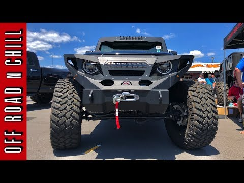 Crazy Looking 2018 Jeep Wrangler JL Rubicon | 2018 Fab Four Wrangler JL