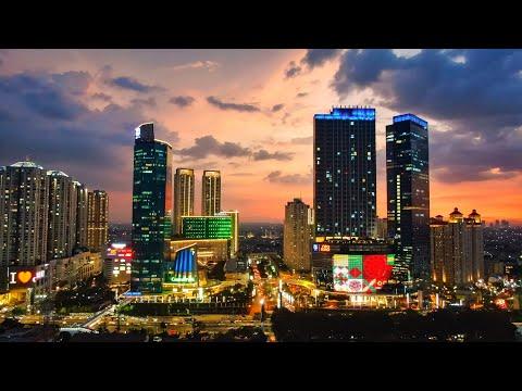 Jakarta City 2018 Drone Footage