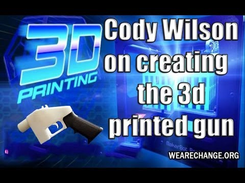 Cody Wilson on Creating using 3d Printer's