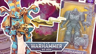 Converting A Warhammer 40k Thousand Sons Chaos Space Marine From A Mcfarlane Primaris Action Figure
