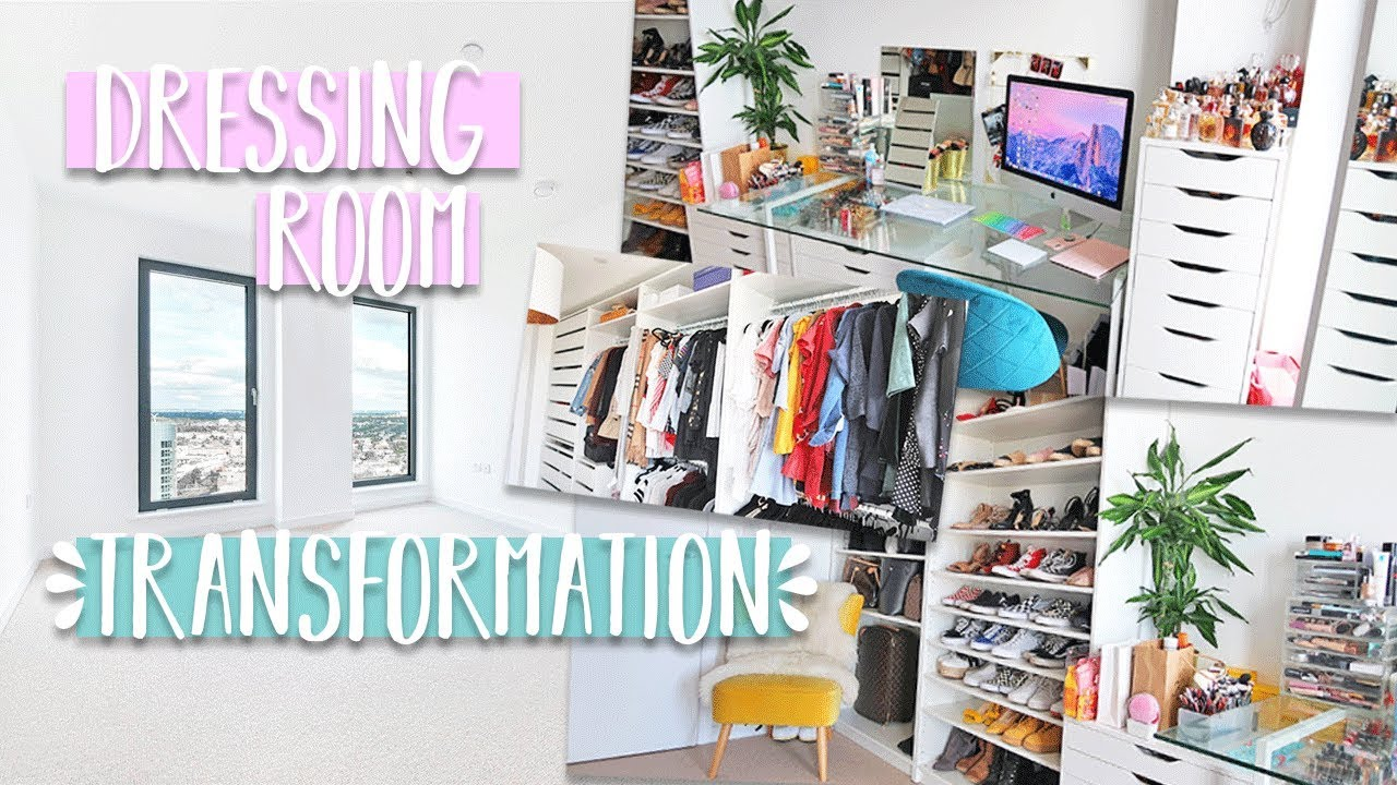 Luxury Dressing Room Transformation On