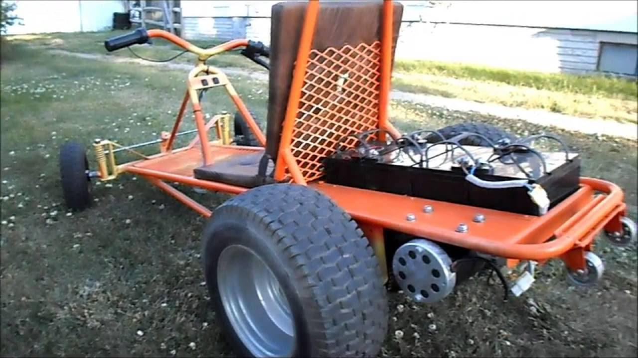 Double Trouble Dual Electric Motor Go Cart